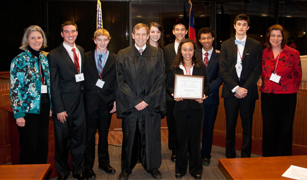 Campbell Law School >> State Champion Crowned At Campbell Law School Ncaj High